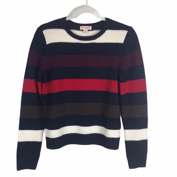 Brooks Brothers | Striped Merino Wool Sweater XS
